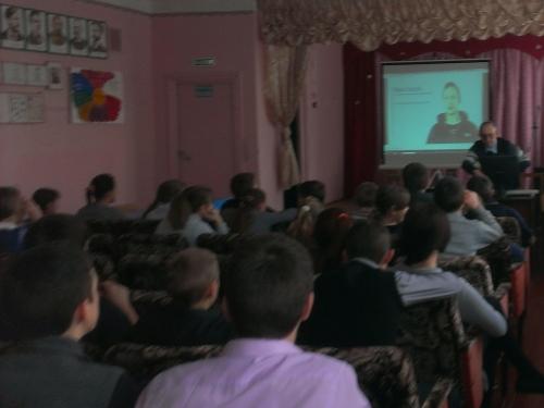 фото час кода 2015 в сош Шняево